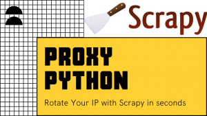 Proxy with Python (Scrapy) - Web Scraping Tutorial